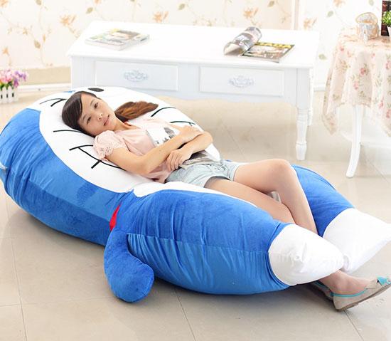 机器猫床垫哆啦A梦睡垫休闲床