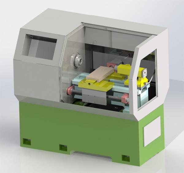 机床SolidWorks模型下载