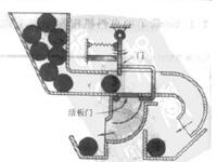 按照尺寸大小自动球形零件分类机构