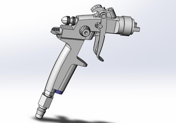 喷枪3D模型