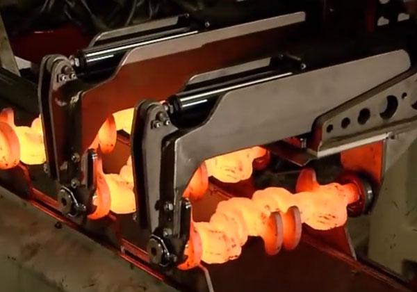 发动机曲轴全自动锻造生产线