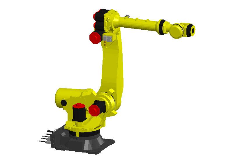 日本发那科机器人3D模型 FANUC R-2000iC/165F