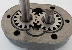 齿轮泵运行原理 容积式 动画