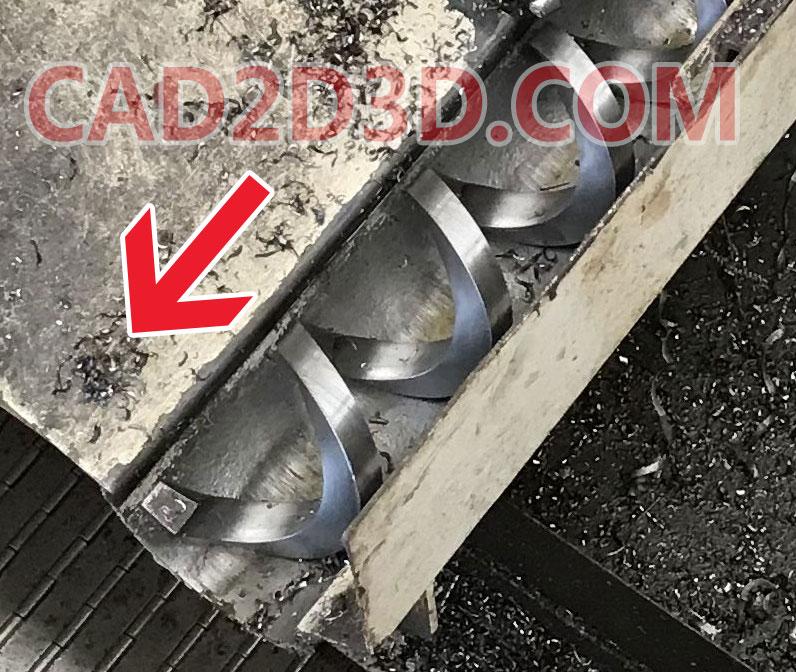机床螺旋排屑装置