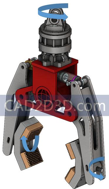 气动软关节手爪 软连接自适应工件