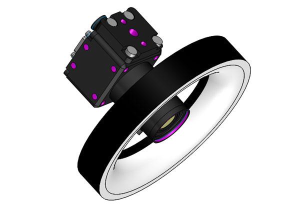 工业相机及光源视觉3D模型 SolidWorks 源文件下载