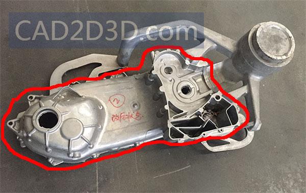 压铸件渣包流道含义作用以及如何利用切边模将其切除