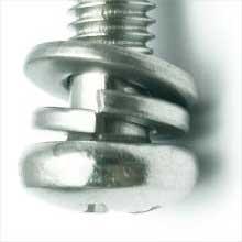 弹垫防松原理:右旋螺纹联接中所用的弹簧垫圈的缺口方向为什么是左旋方向?