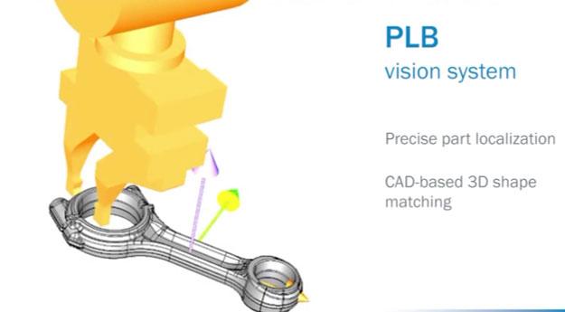 SICK 3D视觉识别定位 机器人自动取件(连杆乱料取件)