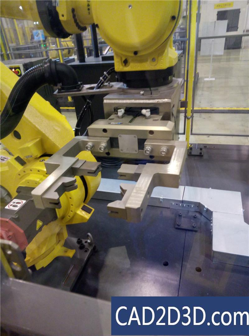 上海发那科(FANUC)机器人工厂(机器人应用场景展厅)参观 现场图片