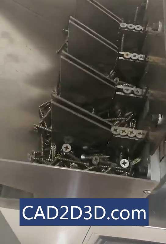 推板式木螺钉自动供料机