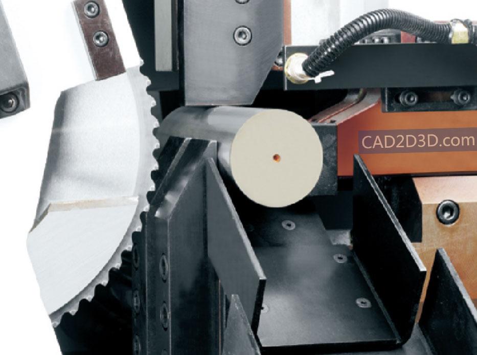 激光切割机和圆盘高速锯 钢材最大切割厚度
