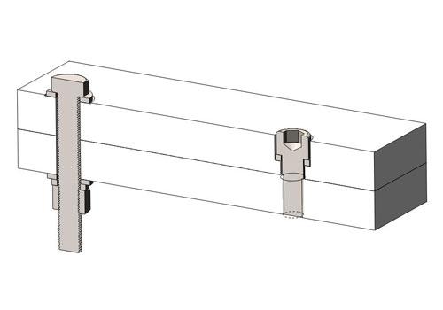 螺栓(bolt / stud)和螺钉(screw)的区别联系 附3D图