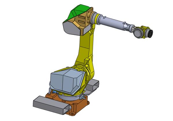 发那科机器人 FANUC M-710iC/50 3D模型(装配体)免费下载 IGS 通用格式