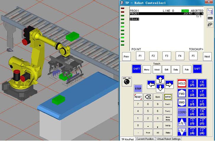 发那科FANUC机器人 ROBOGUIDE 离线编程软件 使用教程 免费下载