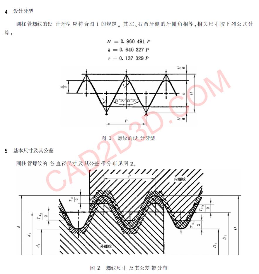 管螺纹密封标准及详细说明:60°密封管螺纹(NPT)、55°密封管螺纹(Rc)、55度非密封管螺纹(G)
