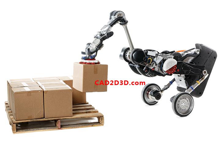 美国波士顿动力公司Handle移动机器人技术配置及应用场景 附视频