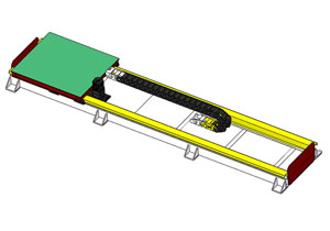 机器人地轨(行走轴)3D模型 SolidWorks 源文件免费下载 含step通用格式