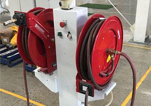 卷盘 卷管器 卷线器 电缆卷筒 内部结构及使用案例场合