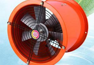 防油防潮耐高温轴流风机 管道安装式 浇注铸造除尘除气