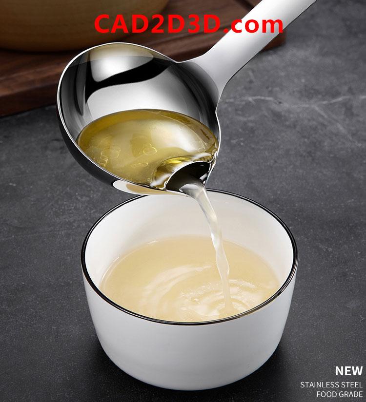 沥油勺油汤分离器