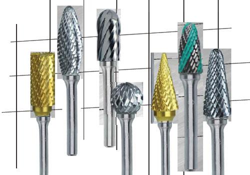 打磨工具旋转锉选型方法步骤,根据材料、要求选择齿型和转速