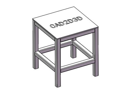 工作台面3D模型免费下载