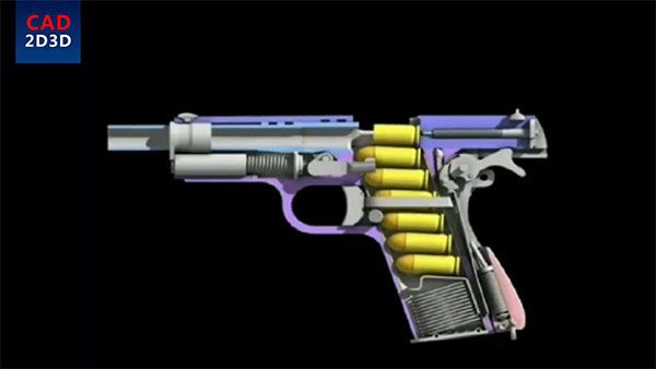 为什么开枪前要手动拉一下枪筒,在电气化的今天,只剩枪是纯机械