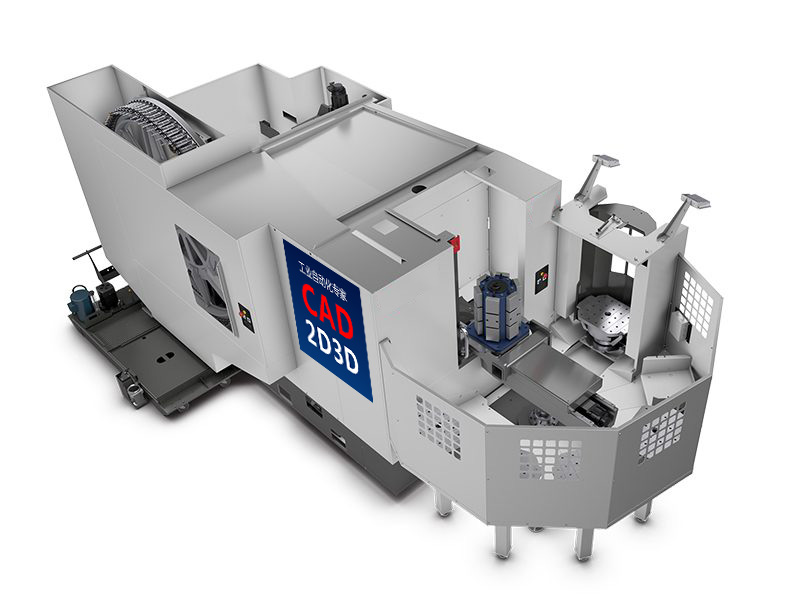 机床快速上下料,多工位托盘池装置,旋转式托盘快换系统