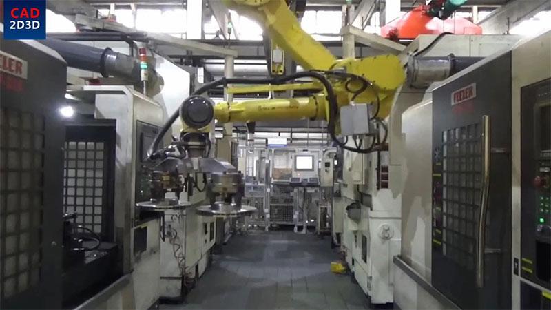 机器人管线包的固定方式,来自日本FANUC官方案例