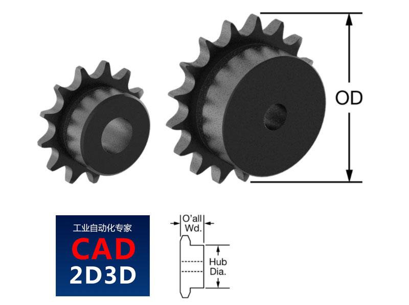 链轮3D源文件下载,SolidWorks 零件格式