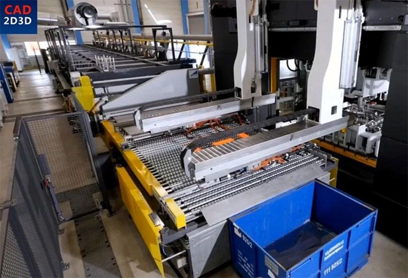 颤抖的机械手,德国著名机床厂设计,乍一看,我还以为是国产的!