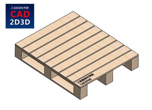 标准托盘1200mm ×1000mm 3D模型免费下载,SolidWorks2020零件和stp通用格式