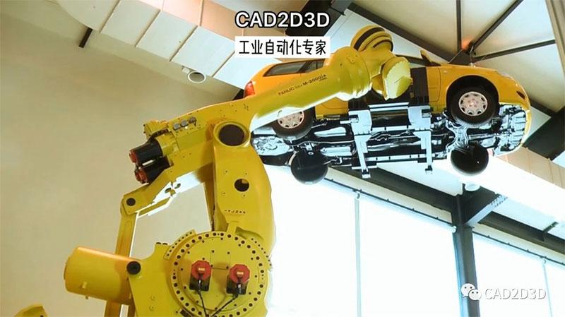 日本FANUC机器人大全,科技实力成就了世界第一的销量