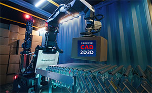 波士顿动力 Stretch  机器人,适用于仓储货箱自动装卸