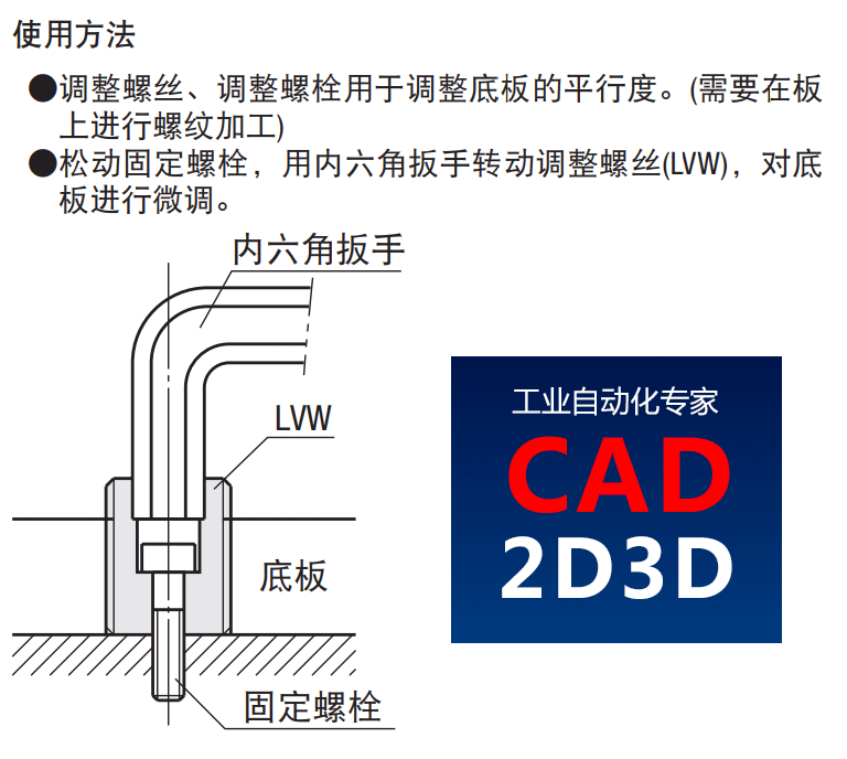 调整螺栓、调整螺丝内部构造和原理,桁架机械手立柱高度调节螺母