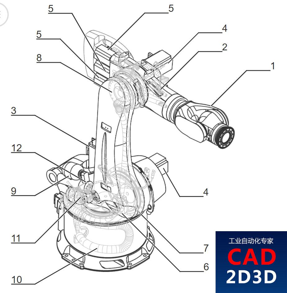 KUKA机器人 KR 600 R2830 技术规格书