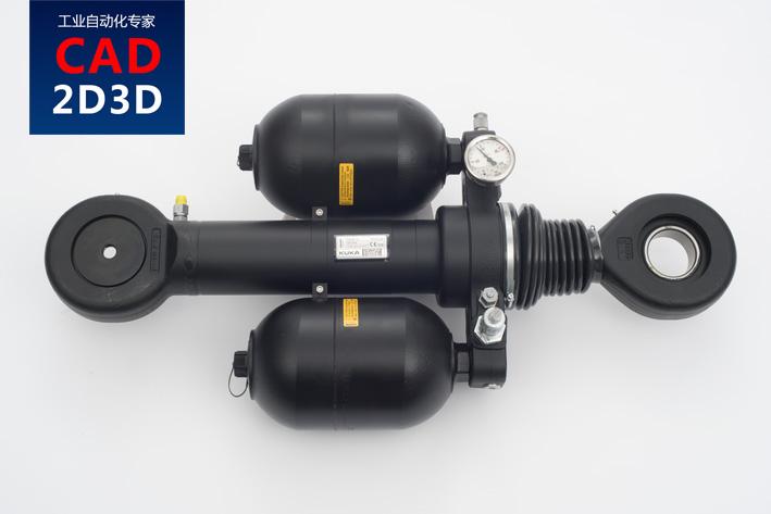 KUKA机器人 KR600液压平衡缸结构组成及规格参数
