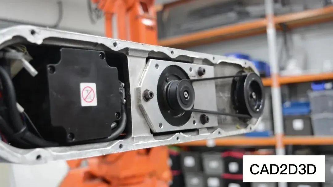 安川机器人5轴6轴传动机构,看起来很简单,跟FANUC没法比